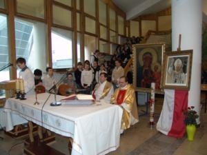 2005.04.05 — Msza św. w intencji Ojca Świętego † Jana Pawła II (fot. Rafał C.)
