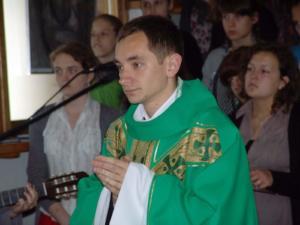 2010.06.02 — ks. Tomasz Kośka COr — Msza św. prymicyjna (fot. Rafał C.)