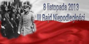 2013.11.08 — III Rajd Niepodległości (fot. Janusz Mazurkiewicz)